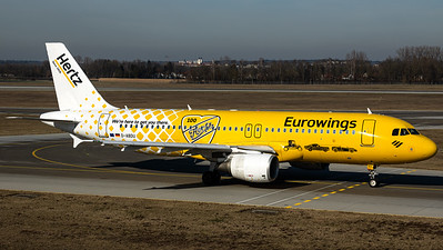 "Eurowings A320 ""100 Years Hertz Rent a car"""