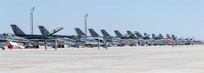 Anatolian Eagle Ramp / Turkish Air Force F-16 & Pakistan Air Force JF-17