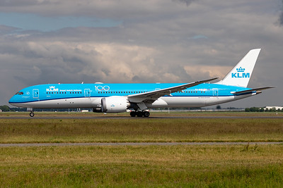 KLM / Boeing 787-9 / PH-BHF