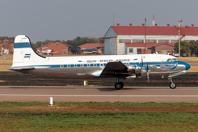Douglas DC-4 at the Africa Aerospace and Defence (AAD) 2018