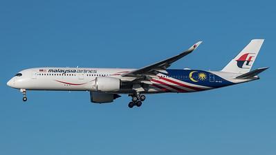 Malaysia Airlines / Airbus A350-941 / 9M-MAC / Malaysia Negaraku Livery