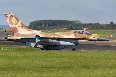 Israel - Air Force | General Dynamics F-16C Barak  | 531