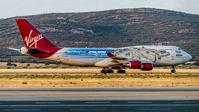Virgin Atlantic / Boeing B747-443 / G-VLIP / The Falcon Livery