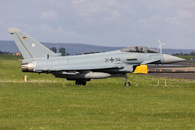 Germany - Air Force | Eurofighter EF2000 Typhoon | 31+34
