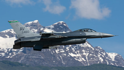 US Air Force / F-16CM Fighting Falcon / 88-0460