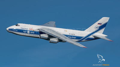 Volga Dnepr on takeoff at MUC