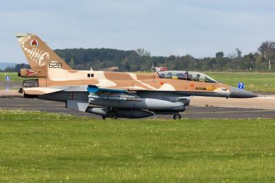 Israel - Air Force | General Dynamics F-16D Barak  | 628