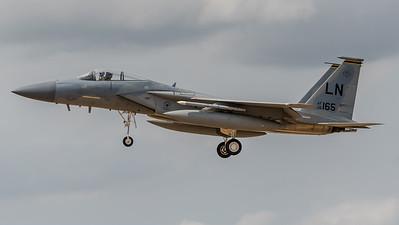 USAF 493 FS / McDonnell Douglas F-15C Eagle / 86-0165 LN