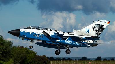 "Luftwaffe - AG51 / Tornado IDS / 45+85 / ""Arctic Tiger 2012"""