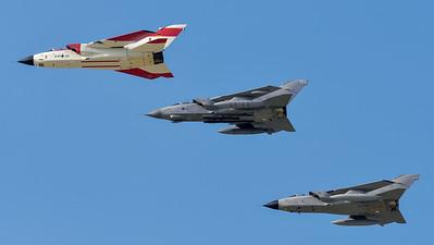 German Air Force, Royal Air Force, Italian Air Force / PANAVIA Tornado IDS, GR.4, ECR / 44+61, ZA597, 50+44 MM7062