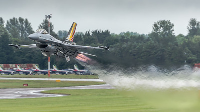 Belgian Air Force F-16 Display Team / Lockeed Martin F-16AM / FA-123 / Gizmo