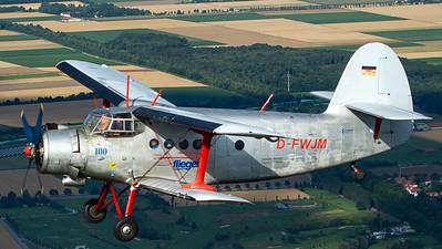 Freunde der Antonov / Antonov An-2 / F-FWJM