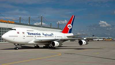 Yemenia Government / B747SP / 7O-YMN
