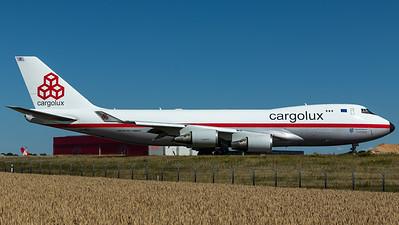 Cargolux / B747-400F / LX-NCL / 50 Years Retro