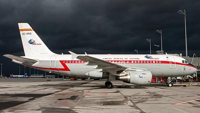 """Iberia / A319-100 / EC-KKS / """"Retro"""""""