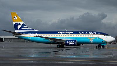 """Tayaran Jet / B737-300 / LZ-TYR / """"Società Sportiva Lazio 1900"""""""