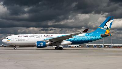 "Qatar Airways / A330-200 / A7-ACG / ""Official Airline 15th Asian Games Doha 2006"""