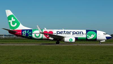 """Transavia / B737-800(WL) / PH-HSI / """"Peter Pan Vakantieclub"""""""