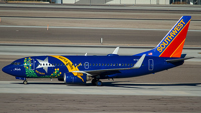 "Southwest Airlines / B737-700(W) / N727SW / ""Nevada One"""