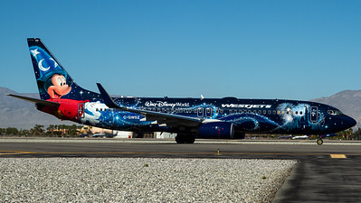 "WestJet / B737-800(W) / C-GWSZ / ""Walt Disney World - Micky Mouse"""