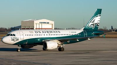 US Airways / A319-100 / N709UW / Philadelphia Eagles NFL