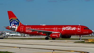 "jetBlue / A320-200 / N615JB / ""New York City Fire Department"""