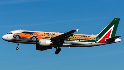 "Alitalia / A320-200 / EI-DSW / ""Jeep Renegade"""