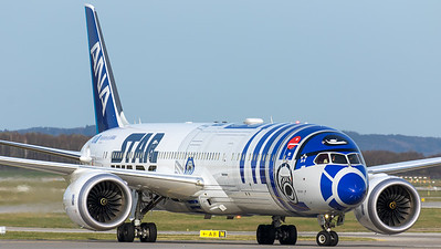 "ANA - All Nippon Airways / B787-9 Dreamliner / JA873A / ""Star Wars R2-D2"""