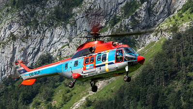 Heli Austria / Aerospatiale AS332L1 Super Puma / OE-XLP