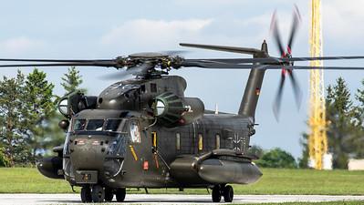 Luftwaffe CH-53GS @ Namest AB