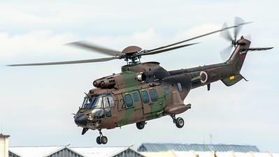Slovenia Air Force AS532AL Cougar