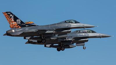 "US Air Force / General Dynamics F-16C Fighting Falcon / 88-0417 / ""El Tigre"""