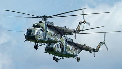 Czech Air Force / Mil Mi-171Sh / 9767 & 9837