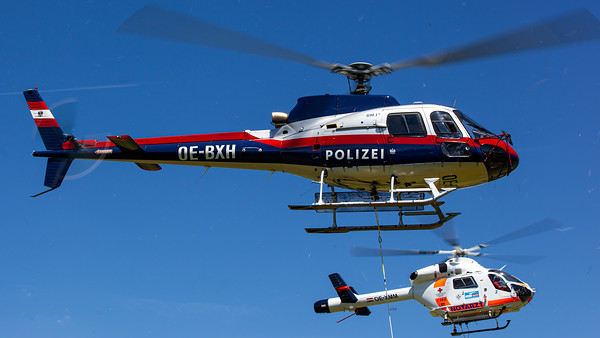 BMI Bundespolizei / Airbus AS350B1 Ecureuil / OE-BXH
