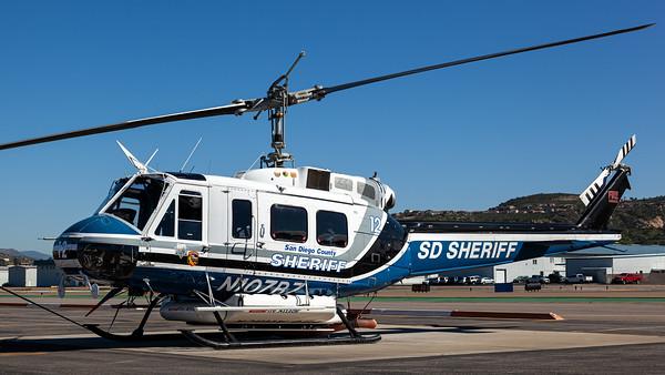 San Diego Sheriff / Bell UH-1H Huey / N107BZ