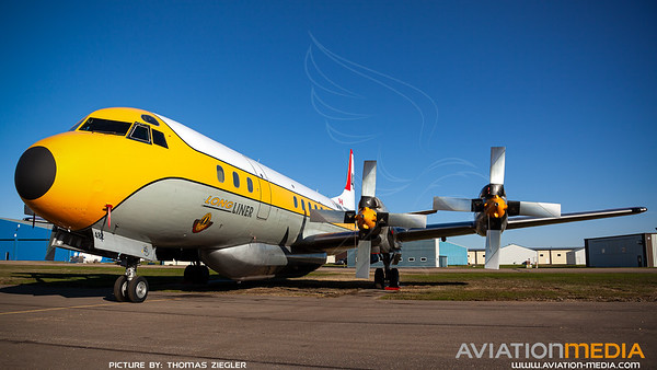 "Air Spray ""Tanker 482"" / Lockheed L-188A Electra / C-FLJO"