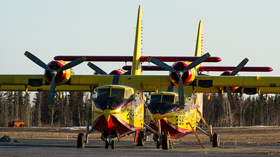 Buffalo Airways / Canadair CL-215-V / C-GCSX