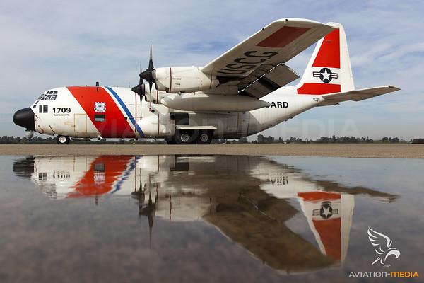 US Coast Guard / Lockheed HC-130H Hercules / 1709
