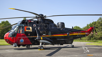 Belgian Air Force Sea King