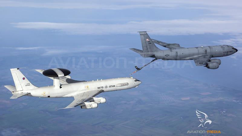 AWACS Air to Air Refueling....