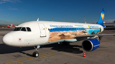 "Thomas Cook Belgium / A320-200 / OO-TCI / ""Gran Canaria"""
