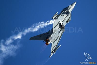 Italy Air Force Typhoon Display