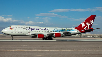 "Virgin Atlantic / B747-400 / G-VLIP / ""Harry Potter"""