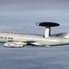 NATO AWACS in the air....