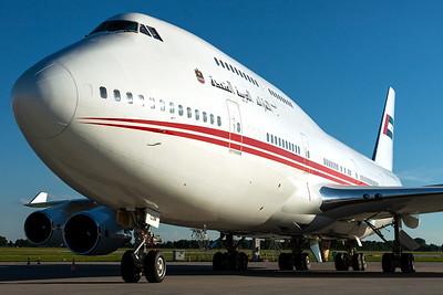 Dubai Air Wing / B747-400 / A6-COM
