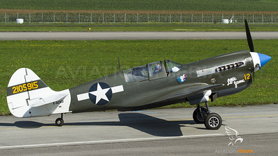 "Curtiss Warhawk ""Little Jeanne"""