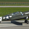 "Curtiss Warhawk ""Little Jeanne"""