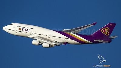 Thai Airways tako-off Munich...