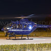 Bundespolizei  EC-135 night take off....