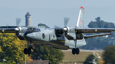 Hungaria Air Force An-26 take off at Payerne